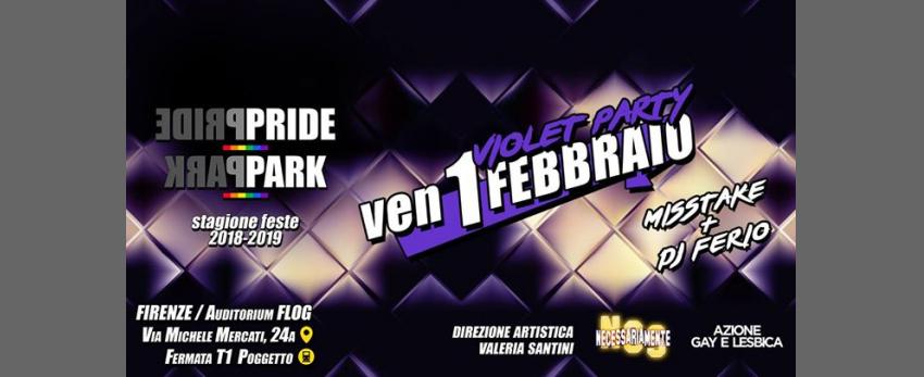 VioletParty@FlogNCSPridePark