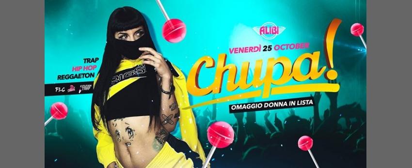 Chupa Ogni Venerdì Trap - Reggaeton Alibi Club Rome