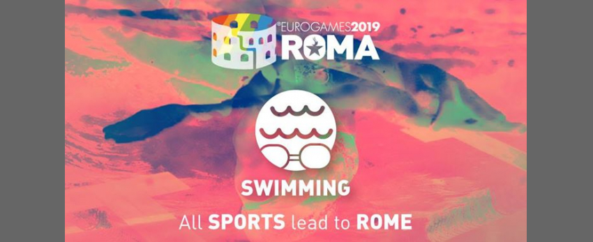 Roma Eurogames 2019 - Swimming Tournament