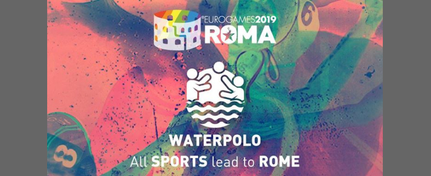 Roma Eurogames 2019 - Waterpolo Tournament