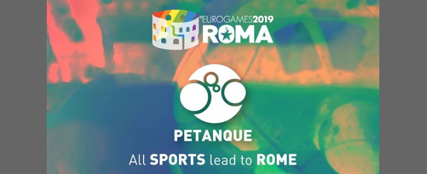 Roma Eurogames 2019 - Petanque Tournament