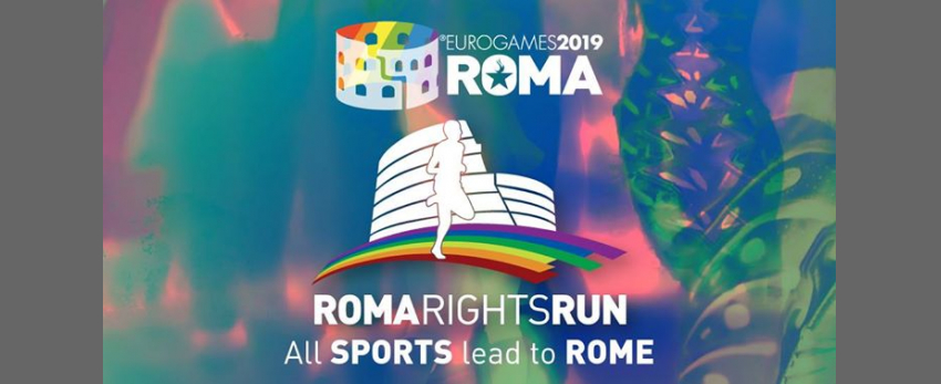Roma Eurogames 2019 - Roma Rights Run 5 km (not competitive)