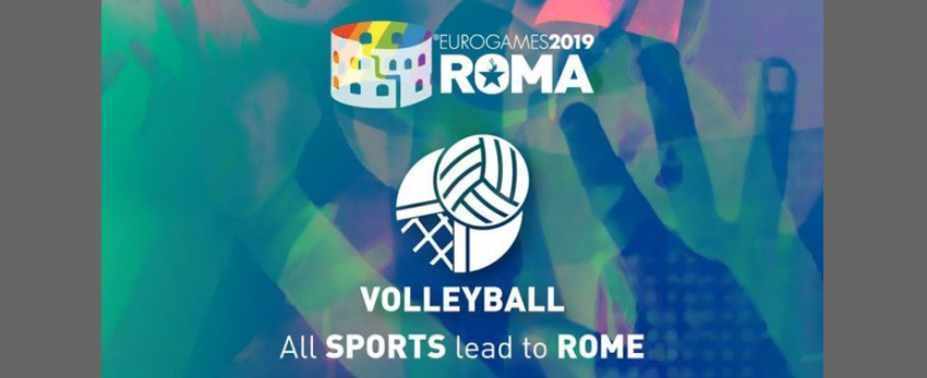 Roma Eurogames 2019 - Volleyball Tournament