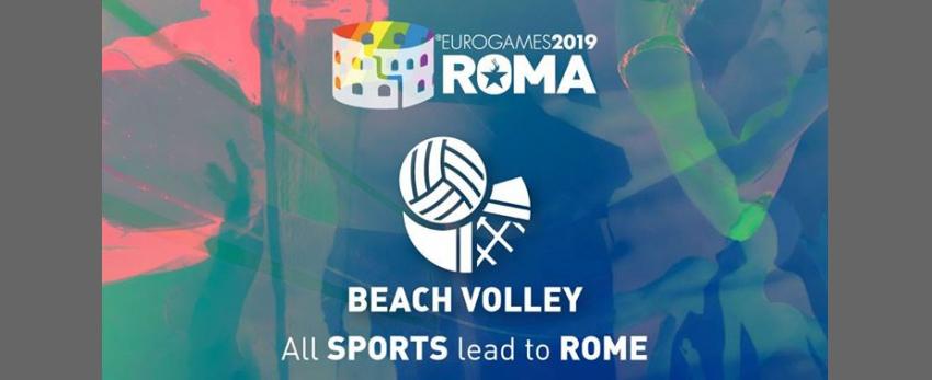 Roma Eurogames 2019 - Beach Volley Tournament