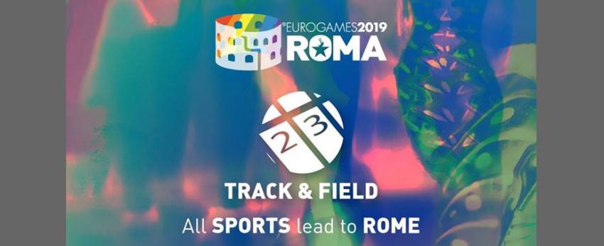 Roma Eurogames 2019 - Track & Field Tournament