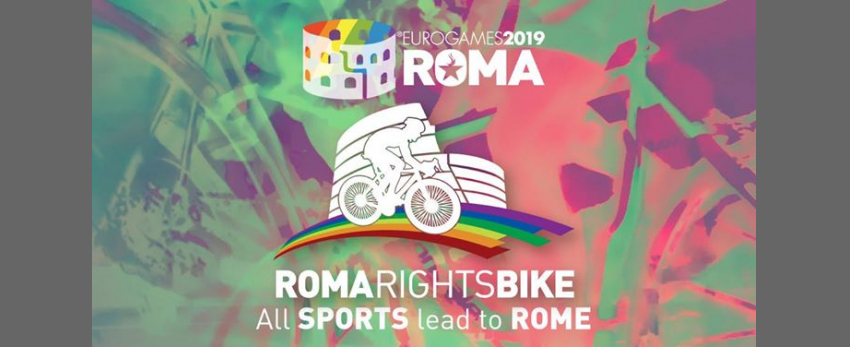 Roma Eurogames 2019 - Roma Rights Bike 10 km (not competitive)