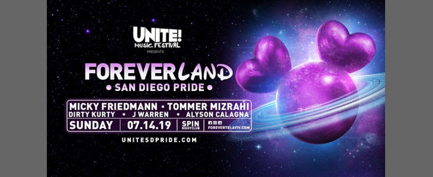 Unite! Music Festival & Masterbeat Present Foreverland