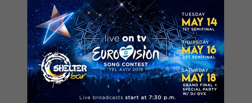 Eurovision 2019 - Live on TV [Shelter Bar Lisboa]