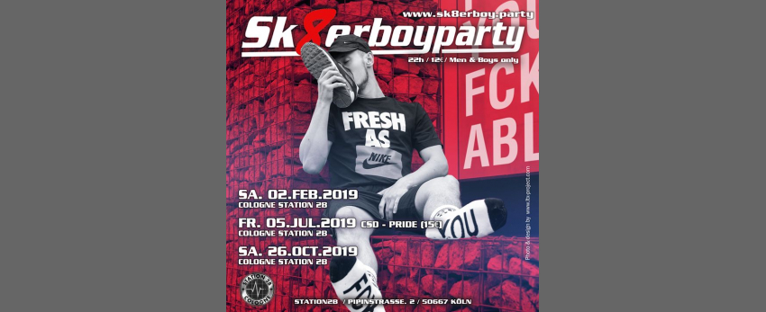 Sk8erboy Party Cologne Fall 2019