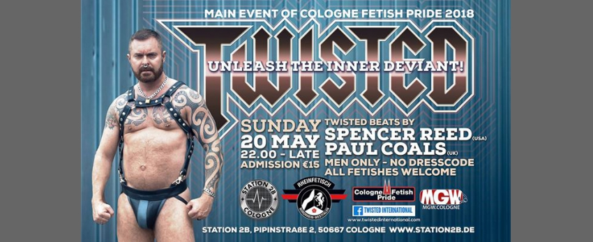 Twisted Cologne - Official Party, Cologne Fetish Pride 2018