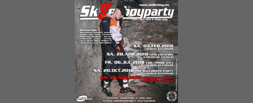 Sk8erboy Pre-Halloween Party in Köln