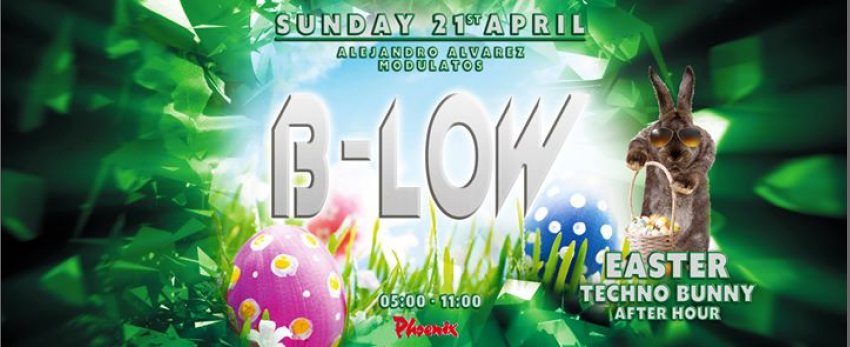 """B-LOW """"Easter Techno Bunny"""""""