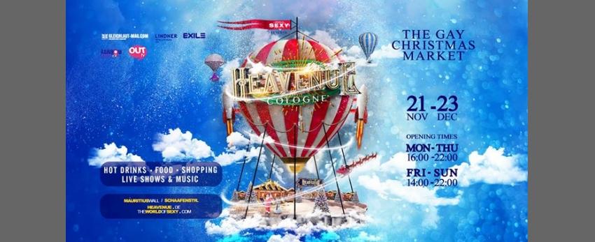 Heavenue Cologne 2019 - Köln's fröhlichster Weihnachtsmarkt!