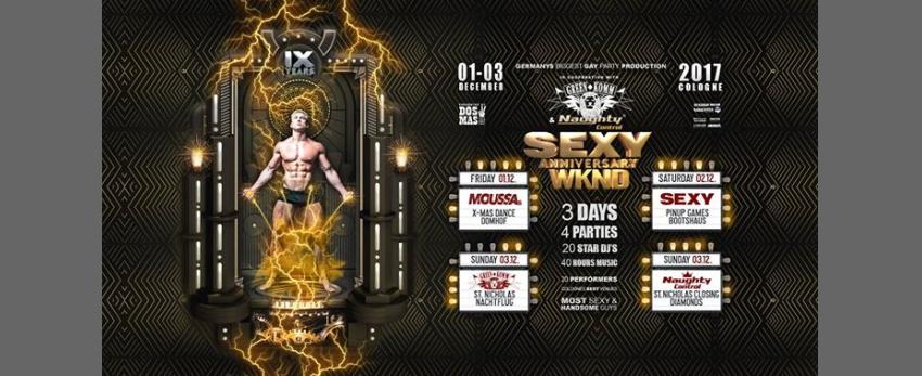 SEXY Anniversary WKND feat. Greenkomm & Naughtycontrol