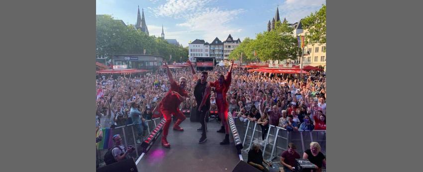 CSD Strassenfest Cologne Pride Samstag