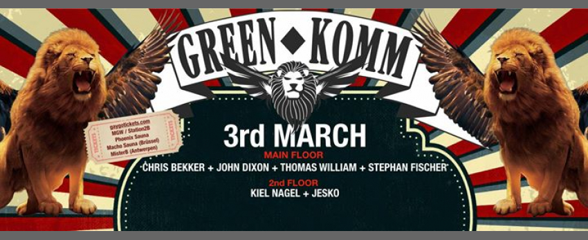 GREEN KOMM - MAIN AFTER HOUR Carnival Festival 2019