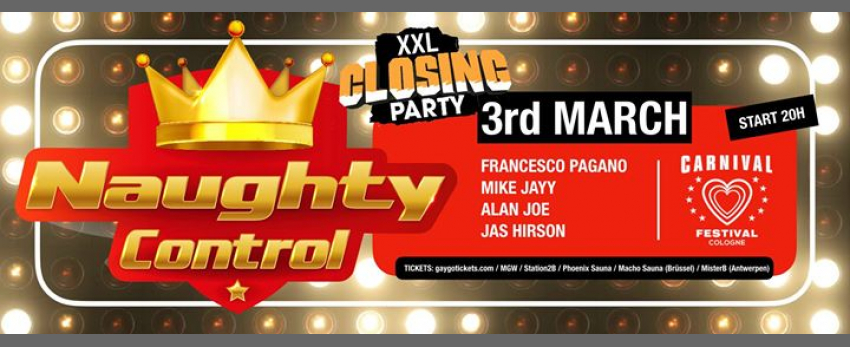 Naughtycontrol - XXL Closing PARTY Carnival Festival 2019