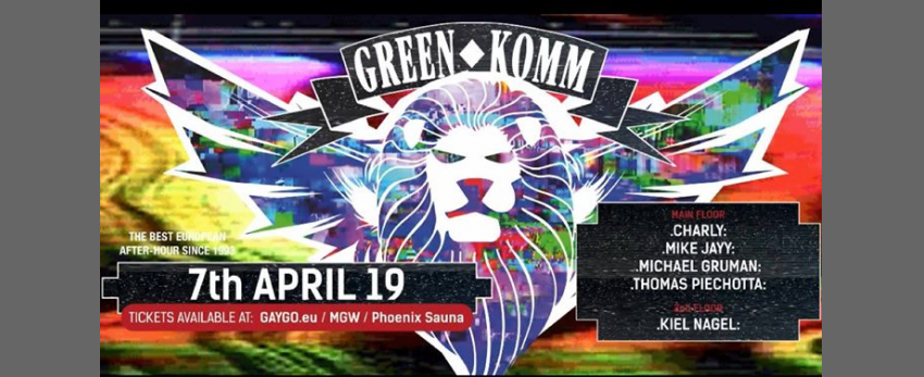 GREEN KOMM 7th APRIL BUNNY TIME