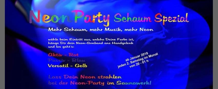 Neon Party Schaum Spezial
