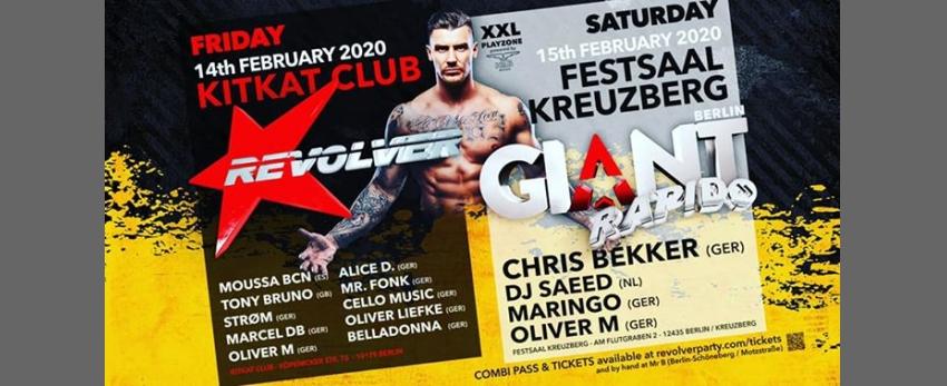 GIANT Revolver meets Rapido (Festsaal Kreuzberg in Berlin)