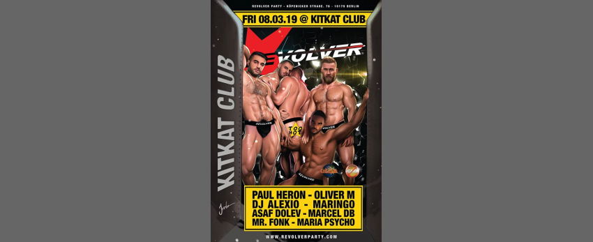 REVOLVER PARTY - Spring Hunk /w Paul Heron ( Little Gay Brother)