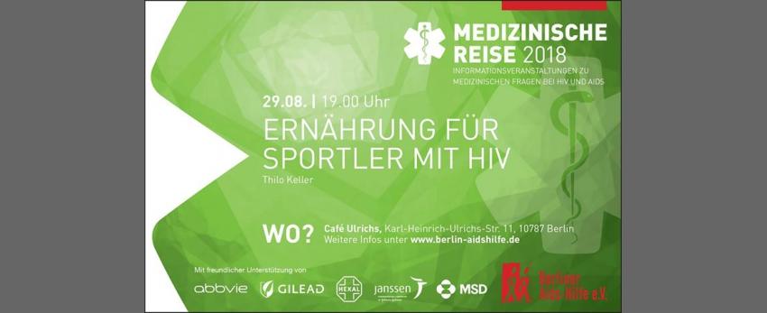 Ernährung für Sportler mit HIV