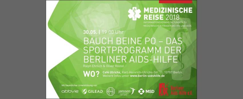 Bauch, Beine, Po – das Sportprogramm der Berliner Aids-Hilfe