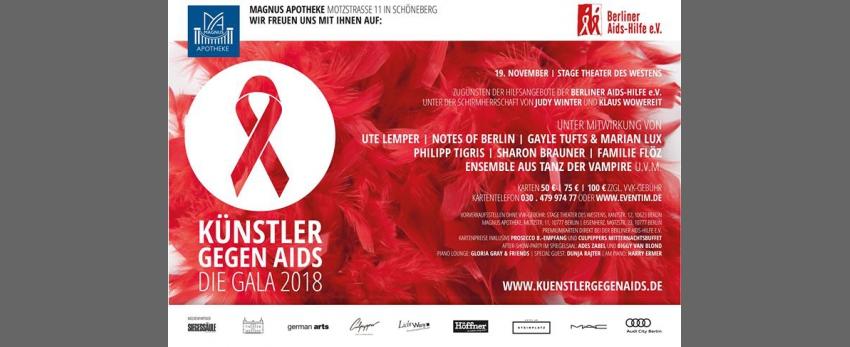 Künstler gegen Aids - Die Gala 2018
