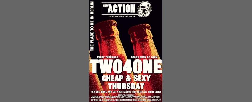 2-4-1 Cheap & Sexy Thursday