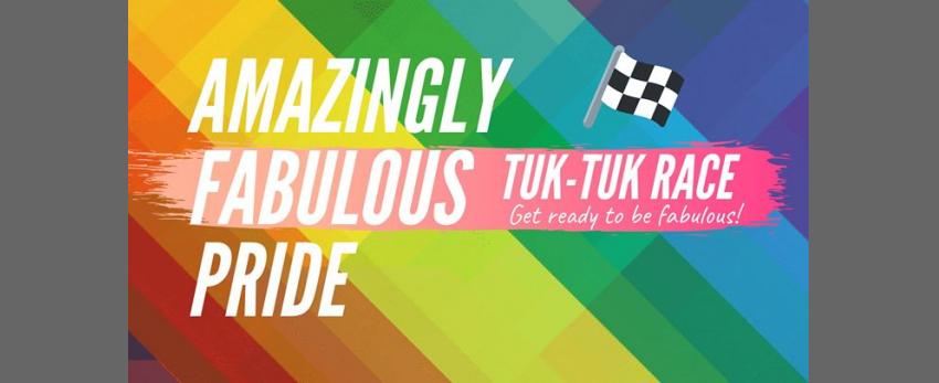 The Amazingly Fabulous PRIDE Tuk-Tuk Race